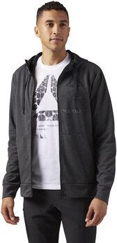 Reebok SpeedWick Full-Zip hoodie Heren Grijs