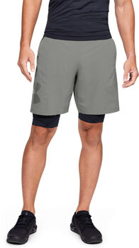 Under Armour Vanish Woven Graphic Short Heren Groen