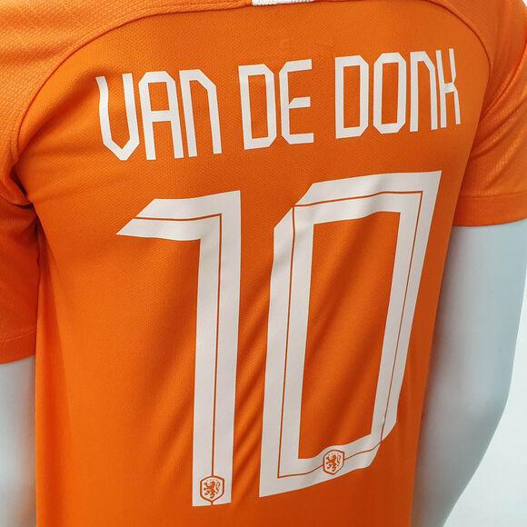 Nederland jr thuisshirt van de Donk