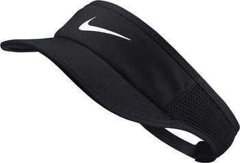 Nike Court Aerobill Tennis zonneklep Dames Zwart