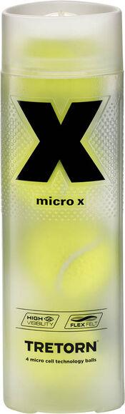 Micro X 4-Tube tennisballen