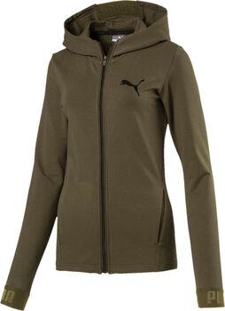 Puma Urban Sports FZ hoodie Dames Groen