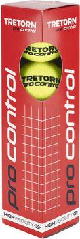 Tretorn Pro Control 4-pack tennisballen Geel
