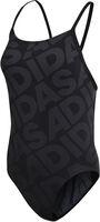 Adidas Allover Print badpak Meisjes Zwart