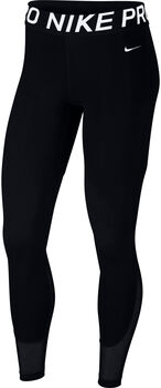 Nike Mini Swoosh tight Dames Zwart