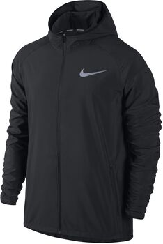 Nike Essential Hooded Running jack Heren Zwart
