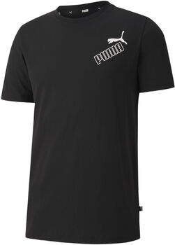 Puma Amplified t-shirt Heren Zwart