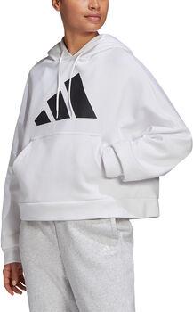 adidas Track hoodie Dames Wit