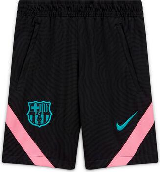 Nike FC Barcelona Strike kids short 20/21 Jongens Zwart