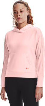 Under Armour Rival Terry Taped Hoodie Dames Roze