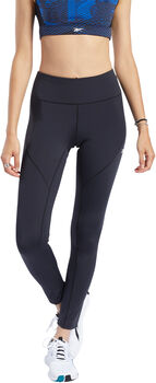 Reebok Lux Perform legging Dames Zwart