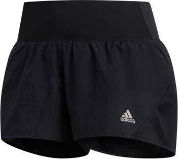 adidas Run It 3-Stripes PB short Dames Zwart