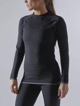 Craft Warm Fuseknit Intensity longsleeve Dames Zwart