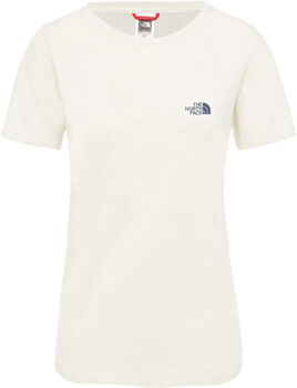 The North Face Extent P8 Logo shirt Dames Wit