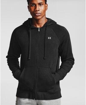 Under Armour Rival Fleece Full Zip hoodie Heren Zwart