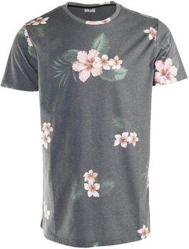 Brunotti Jason Flower-AO t-shirt Heren Grijs