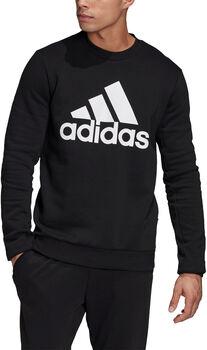 adidas Badge of Sport Fleece Sweatshirt Heren Zwart