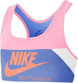 Nike Swoosh kids sportbeha Meisjes Rood
