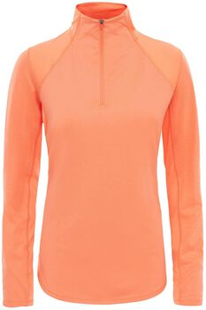The North Face Motivation 1/4 midlayer Dames Oranje