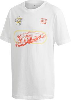 ADIDAS Marvel Iron Man shirt Wit