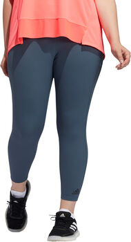 adidas Alphaskin HEAT.RDY 7/8 legging (Grote Maat) Dames Blauw
