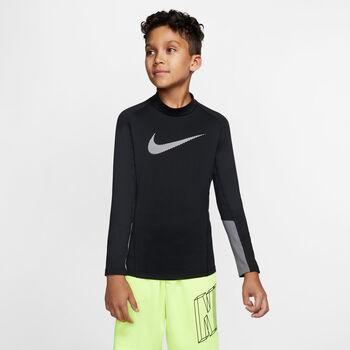 Nike Pro Therma Mock GFX longsleeve Jongens