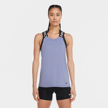 Nike Pro top Dames Paars