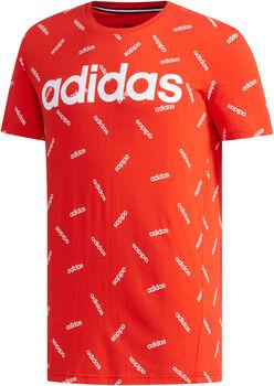 ADIDAS All Over Print shirt Heren Rood