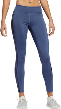 ADIDAS Solid 3-Stripes tight Dames Blauw
