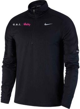 Nike a.s.r. Vitality Dri-FIT Element 1/2 Zip longsleeve Heren Zwart