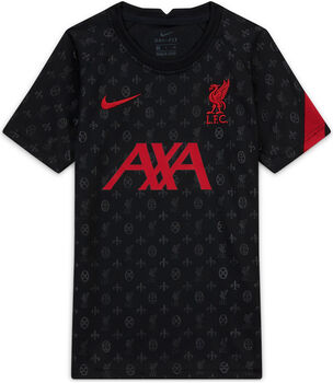Nike Liverpool FC Dri-FIT kids top 20/21 Jongens Zwart