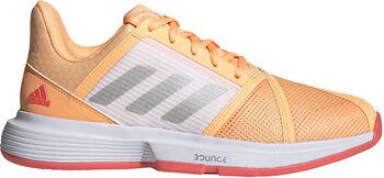 adidas CourtJam Bounce tennisschoenen Dames Blauw