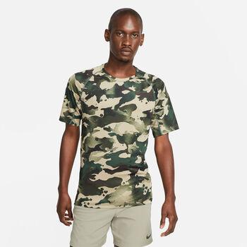 Nike Pro Camo shirt Heren Groen