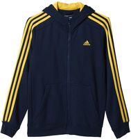 Essentials 3-Stripes Brushed jr hoodie