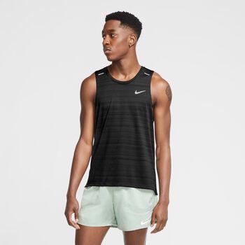 Nike Dri-FIT Miler tanktop Heren Zwart
