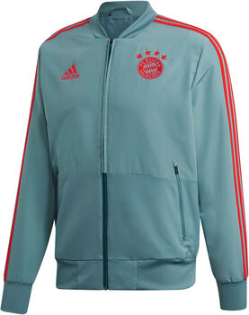 26c307352be ADIDAS FC Bayern München Presentatie jack Heren Groen