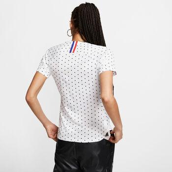 Nike Frankrijk Breathe Stadium shirt Dames Wit