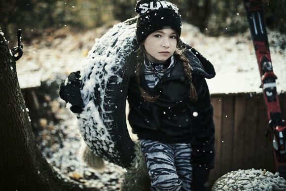 Sustainable All-Over kids skibroek