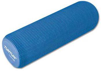 tunturi yoga massage roller 40cm eva Blauw