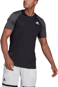 adidas Club Tennis T-shirt Heren Zwart