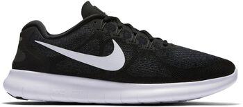 Nike Free RN 2017 hardloopschoenen Heren Zwart
