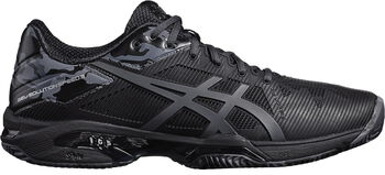 Asics Gel-Solution Speed Clay L.E. tennisschoenen Heren Zwart