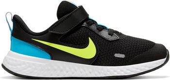 Nike Revolution 5 hardloopschoenen Zwart