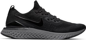 Nike Epic React Flyknit 2 hardloopschoenen Heren Zwart