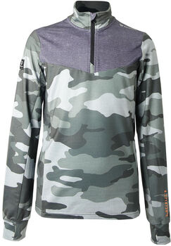 Brunotti Avocet fleece Jongens Groen