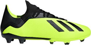 ADIDAS X 18.3 FG voetbalschoenen Heren Geel