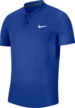 Nike Court Dry polo Heren Blauw