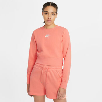 Nike Air sweater Dames Rood