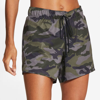 Nike Dri-FIT short Dames Grijs