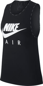 Nike Air Running top Dames Zwart